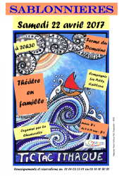Spectacle familial: Tic tac Ithaque